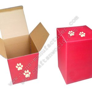 Cardboard Box For Urns Packing With Print