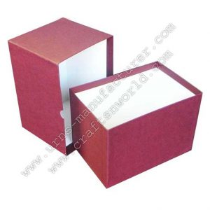Cardboard Boxes For Urns Packing In Mahroon Colour