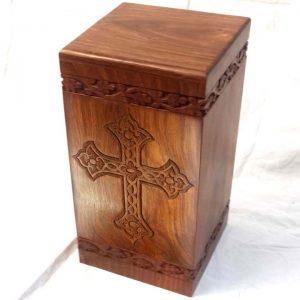 Wooden Human Urns