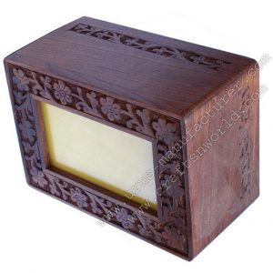 Carved Photo Frame Cremation Urns For Human