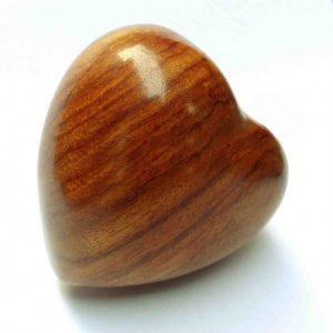 Wooden Heart Urns