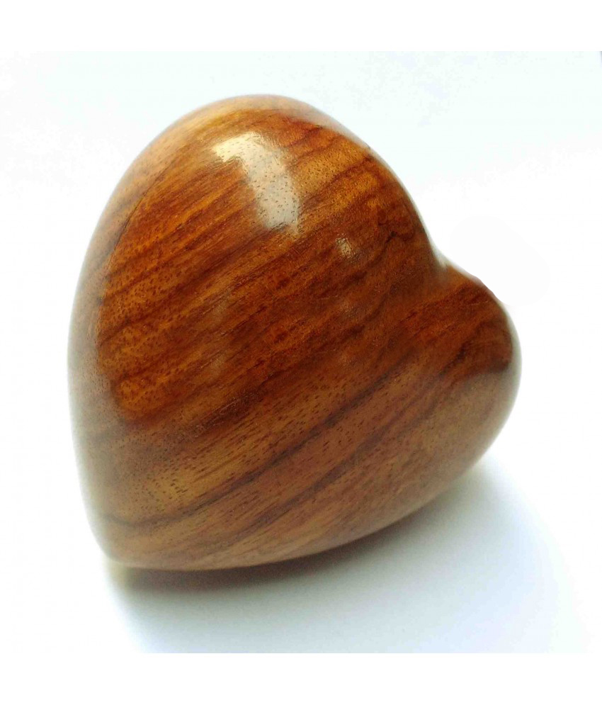 Wooden Heart Urns
