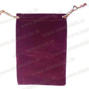 Drawstring Velvet Bags