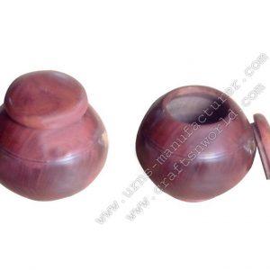 Shisham Wood Turn Urns Odyssey Plain
