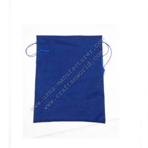 Nice Blue Velvet Drawstring Bag For Urns Packing