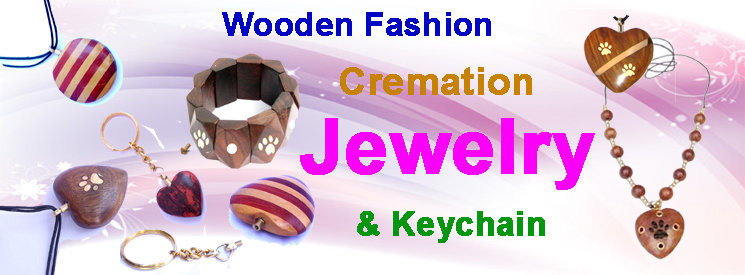 Wooden Cremation Jewelry