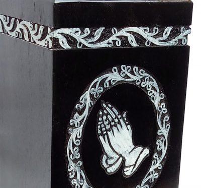 Memorials Urns For Human Ashes, Decorative Keepsake, Wooden Cremation Urn - Wood Box - Burial Casket