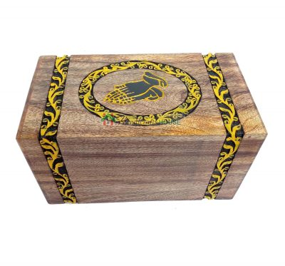 Cremation Boxes, Wooden Urns For Adult, Wood Keepsake Urn, Decor Casket
