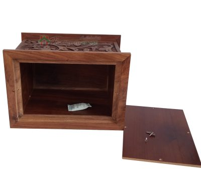 Wooden Cremation Urns For Human or Pet, Wood Burial Urns, Memorials Box