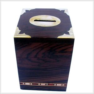 Wooden Money Box, A decorative Item - Wood Accessories for Home, Office