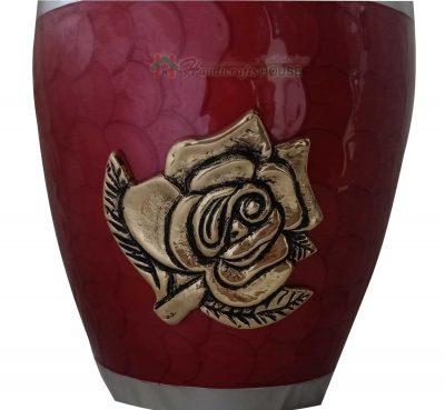 Ash Urn for Human - Adult Cremation Urns, Metal Keepsake - Funeral Casket, Decorative Tableware