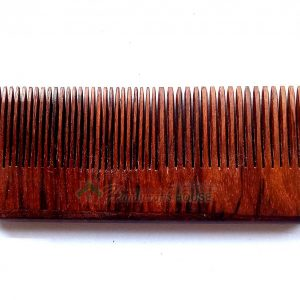 Anti-Static Tooth Combs for Men, Women and Adults, Timber Hair Accessories - Handmade Wooden Beard and Mustache Comb