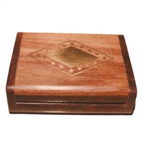 Decorative Box for Fashion Accessories - Ring and Necklace Storage Box, Wooden Boxes for Fashion Jewellery