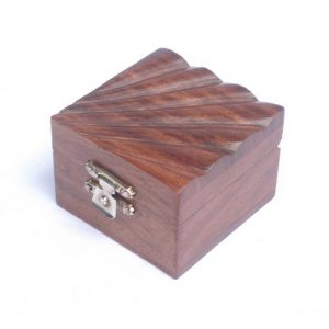 Fashion Jewelry Box - Finger Ring, Ear Ring and Necklace Storage Box, Wooden Boxes for Fashion Jewellery