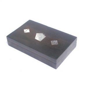 Tabletop Black Game, Wooden Games for Family - Hardwood Game