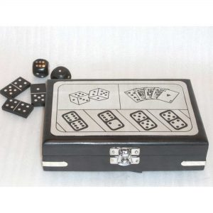Classic Wooden Games, Wood Games for Adult- Tabletop Wooden Game Accessories