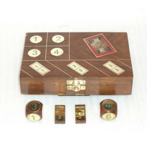 Board Games - Wooden Play Accessories, Dice Game