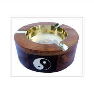 Wooden Cigar Ashtrays - Hardwood Indoor and Outdoor Ash Tray