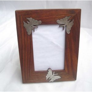 Butterfly Photo Frame- Picture Frames for Family and Paper Certificate
