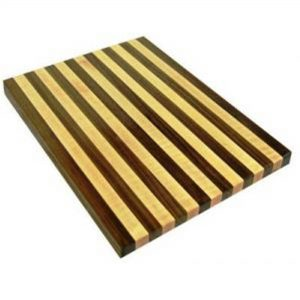 Chopping Board for Kitchen – Handmade Solid Wooden Cutting Board for Meat, Vegetables